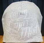 Czapka DM TCM szara/biały
