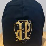 Czapka JP czarna/złoty