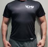 """T-shirt DM """"Polirash""""czarny męski"""