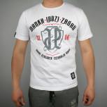 "T-shirt ""Marka Ludzi Zasad"" biały(FIT)"