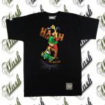 T-shirt SKATER czarny